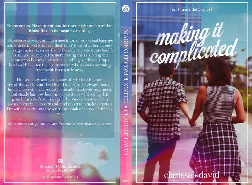 Making It Complicated (I Heart Iloilo 2) by Clarisse David full wrap.jpg